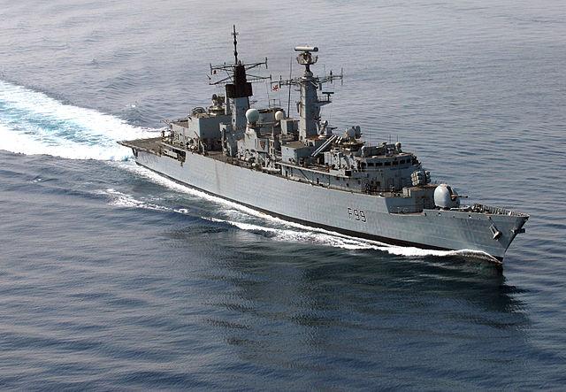 HMS Cornwall Persian Gulf 2007