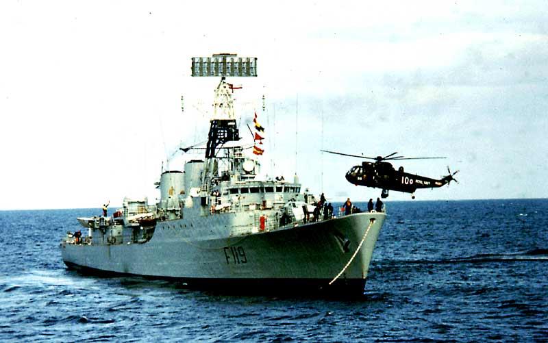HMS Eskimo 1975