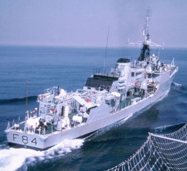 HMS Exmouth 1972