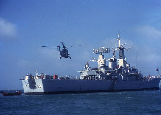 HMS Hermione F58