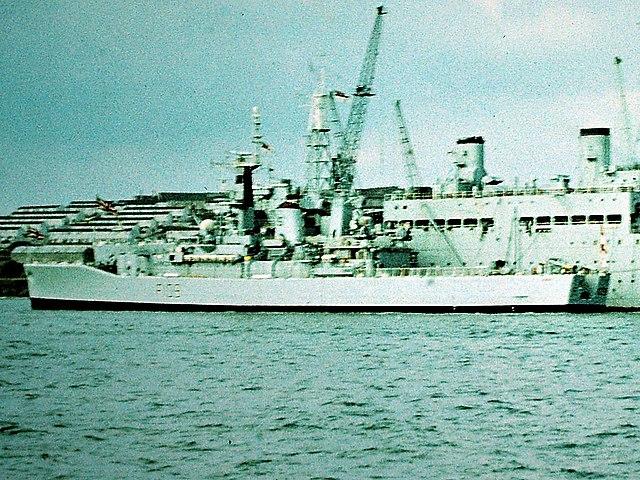 HMS Leander 1977