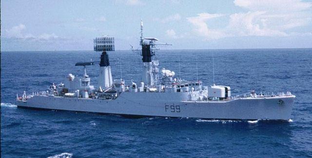 HMS Lincoln 1972