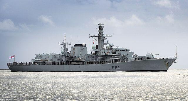 HMS Sutherland 2012