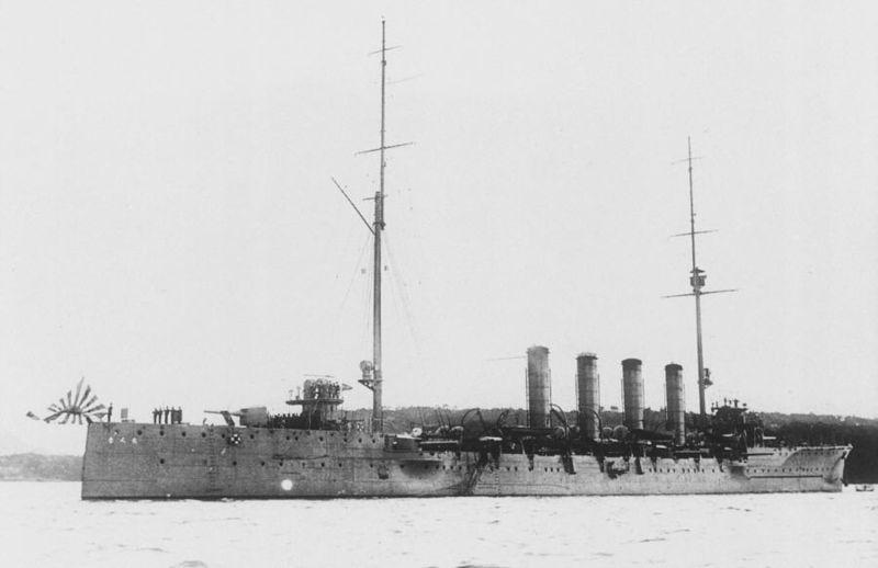 IJN Chikuma 1912