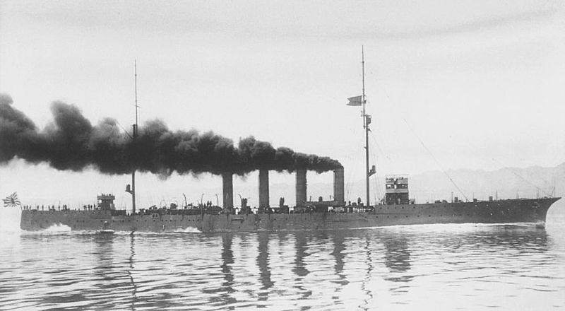 IJN Hirado in 1912