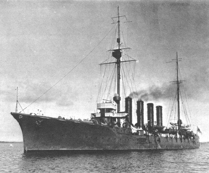 IJN Hirado at Auckland in 1912