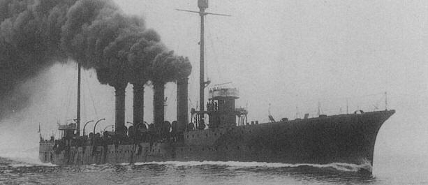 IJN Yahagi in 1912
