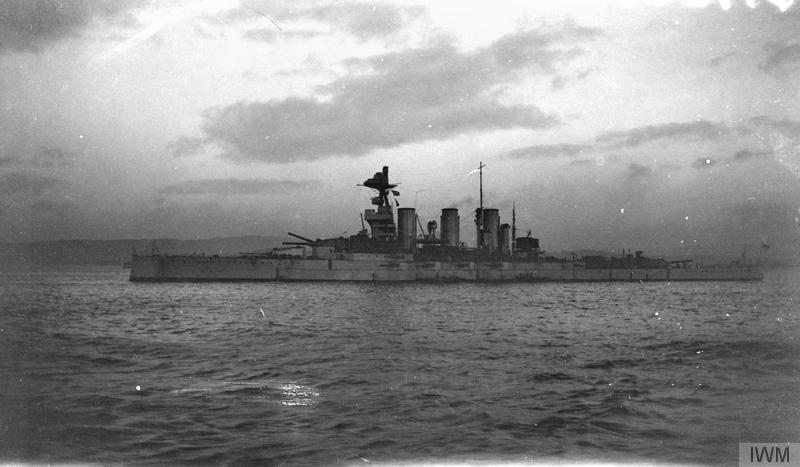 tiger surrender german fleet nov 1918