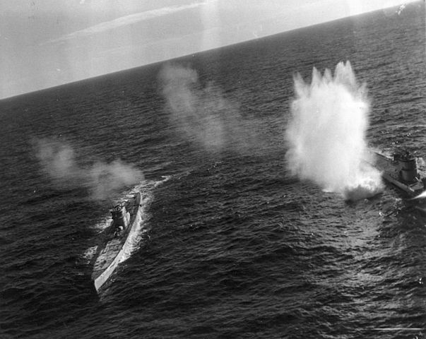 U-66 and U-177 attacked by allied aviation