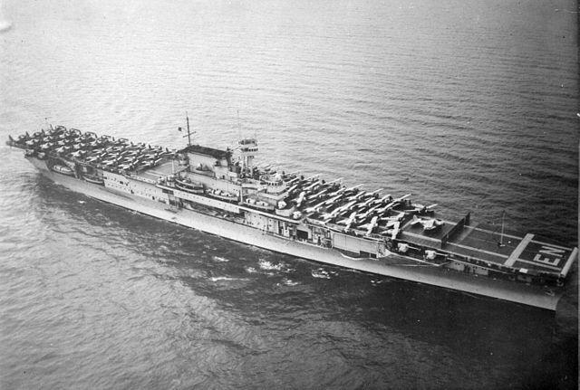 USS Enteprise in April 1939
