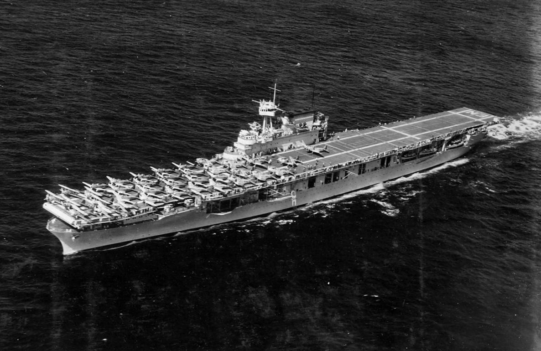 USS Enteprise underway in 1939