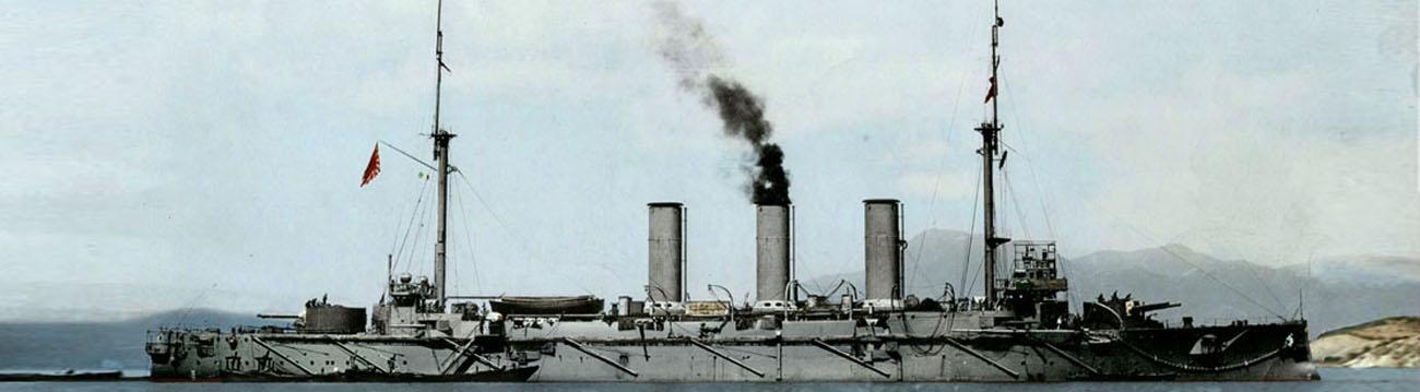 WW1 Japanese Cruisers