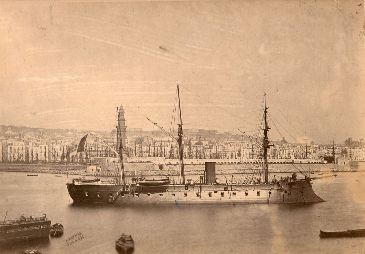 Castelfidardo in Naples 1864