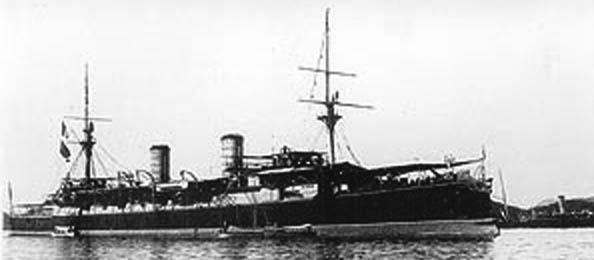 Esmeralda in 1896
