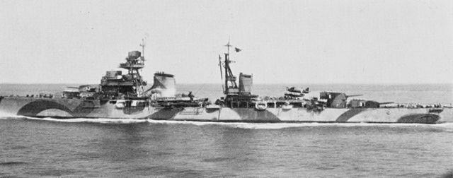Luigi Cadorna, camouflaged, surrendering to the allies at Malta, 9 November 1943