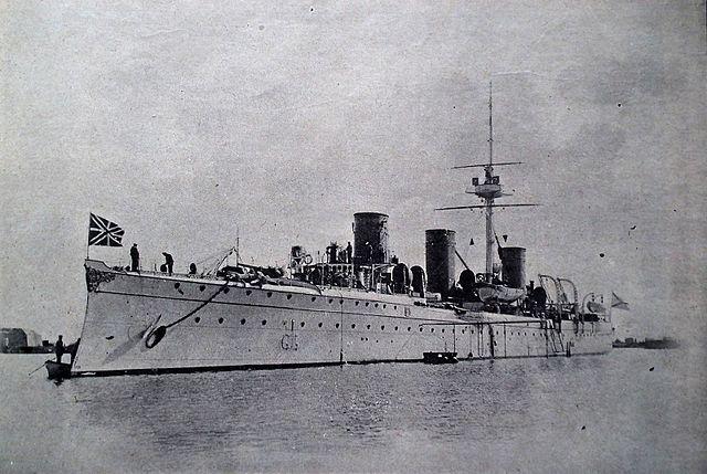 Novik cruiser