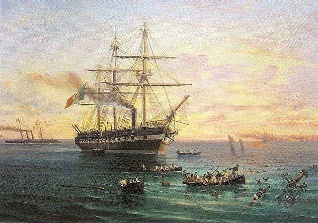 Prince Umberto painted by De Simone
