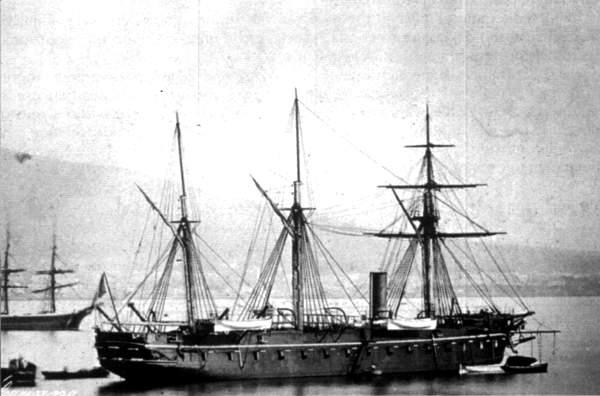 Principe de Carignano Naples 1863