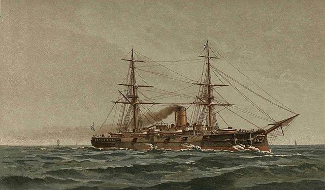 Russian Fleet 1892 Nakhimov