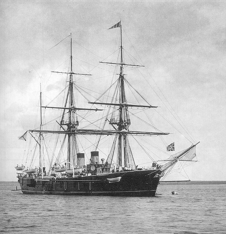 The Rynda, as built.