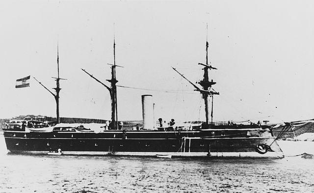 SMS_Erzherzog_Ferdinand_Max_after_1880