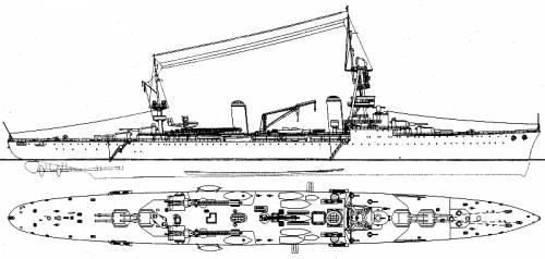 Reconstruction of the Suffren, the blueprints