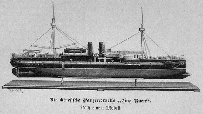 Chinese Ironclad 1883