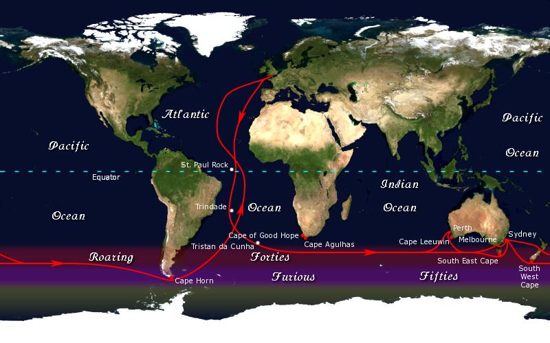 Clipper route