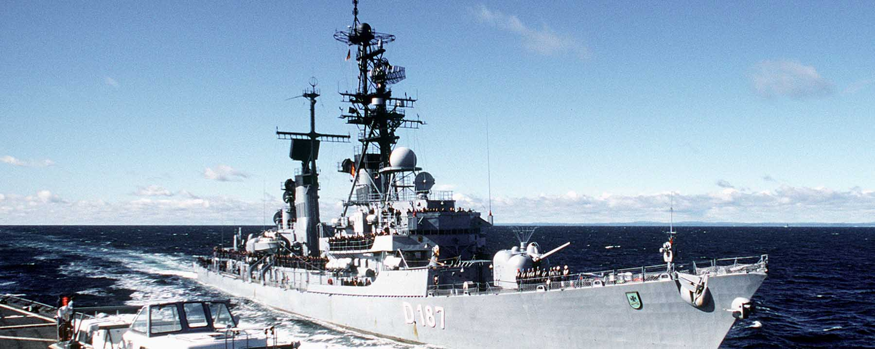 Lütjens class Destroyers (1965)