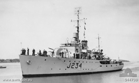 HMAS Latrobe