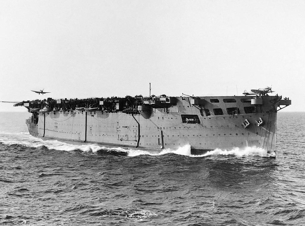 HMS Argus 1942