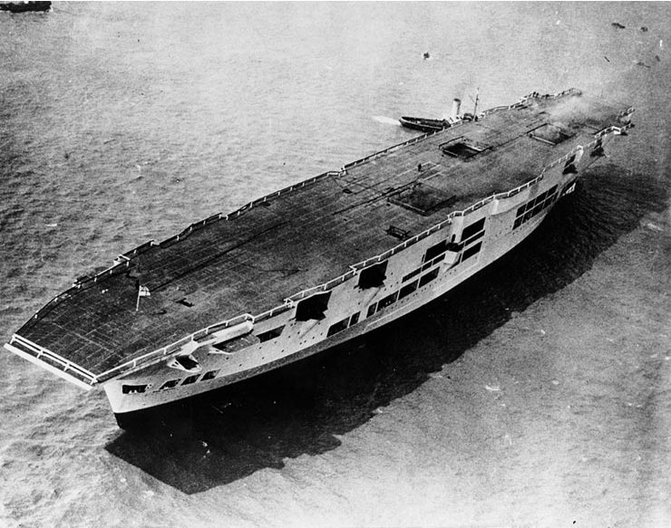 ark royal after launch
