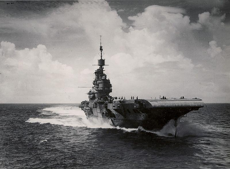 Illustrious bow 1944