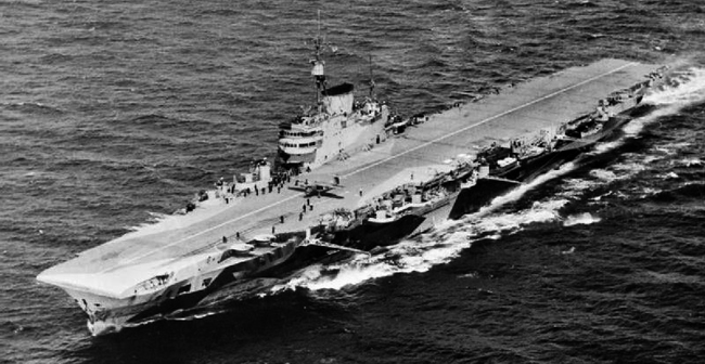 HMS Indefatigable 1944