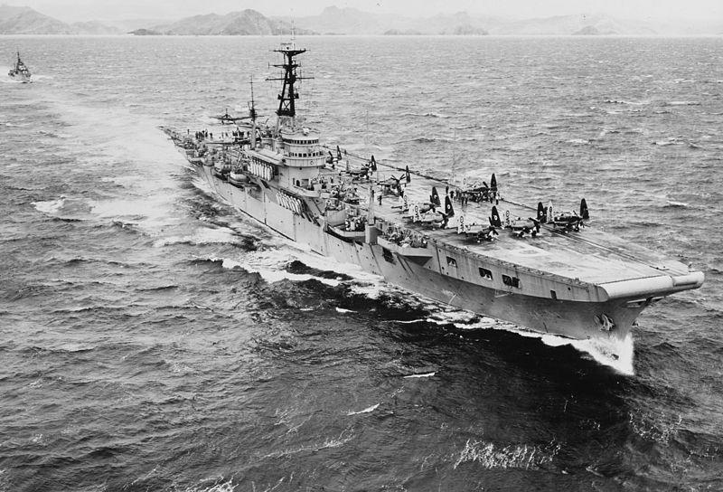 HMS Trimph 1950