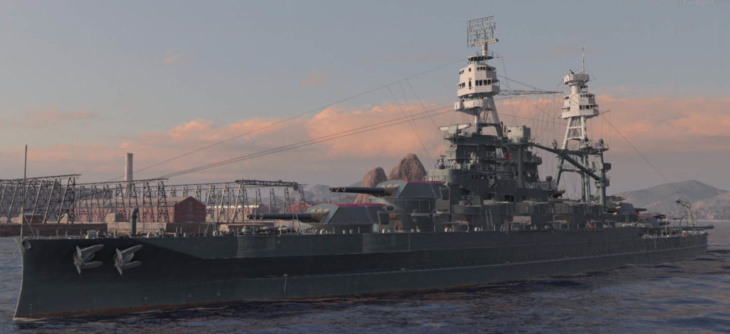 wow's rendition of USS Nevada