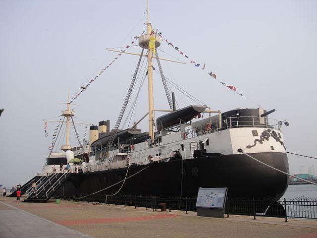 Replica of Dingyuan as museum ship