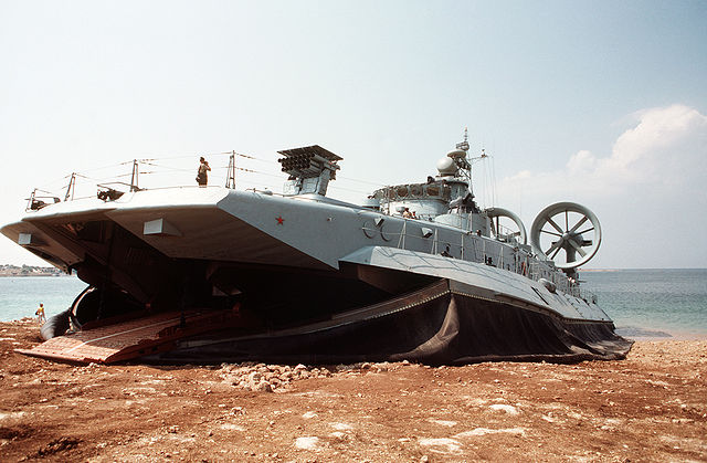 Pomornik class hovercrafts