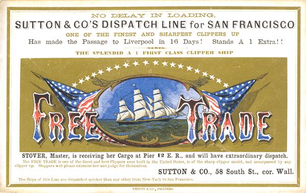 free trade clipper