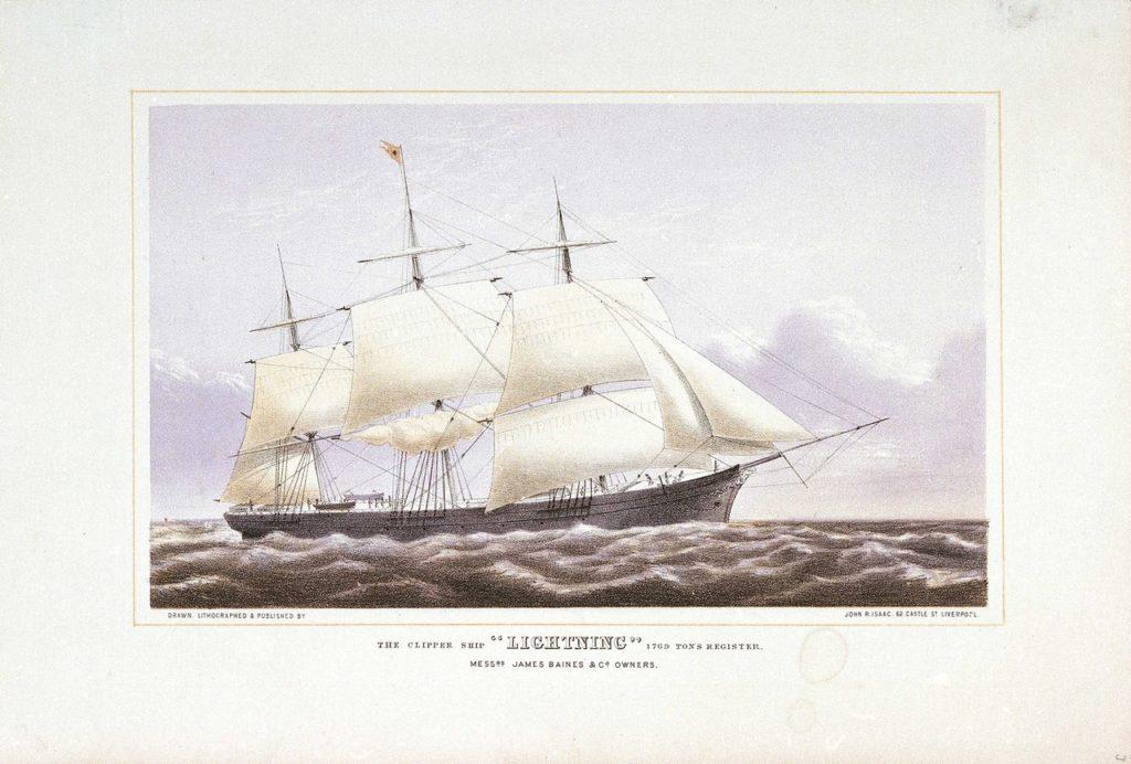 Lightning 1854
