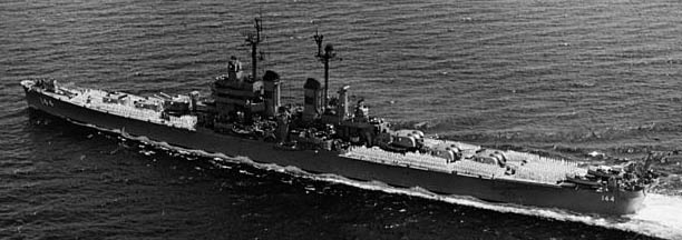USS Worcester 31 May 1952