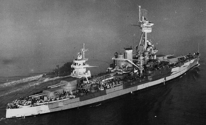 USS Texas 1944