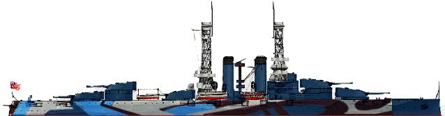 USS New York 1918
