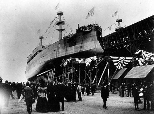 launch of USS Kearsage