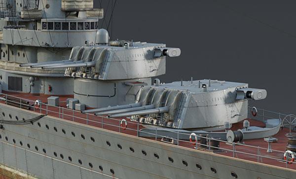 Chapaev class turrets