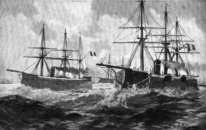French Fleet 1870