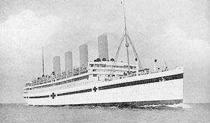 HMHS Aquitania