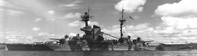 HMS Revenge 1942