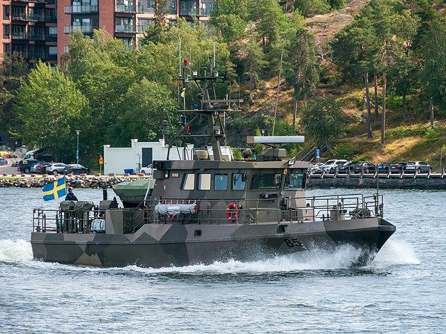 HMS Trygg - Tapper class swedish patrol boats