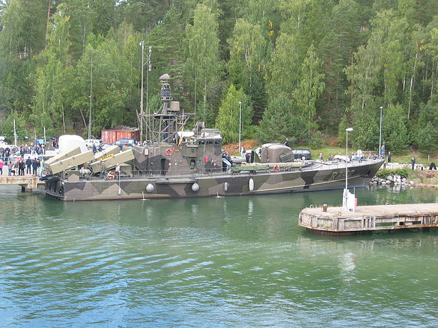 Ystad - Spica II class missile FACs